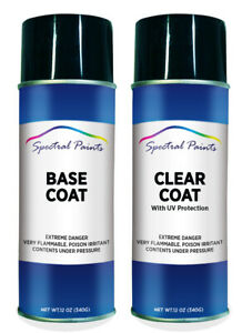 For Dodge Ppg Dark Spruce Metallic Aerosol Paint Clear Compatible