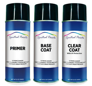 For Ford 7d Holly Green Aerosol Paint Primer Clear Compatible