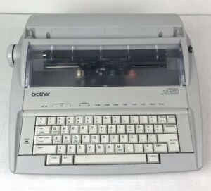 Brother Gx 6750 Correctronic Electronic Typewriter Tested Works No Ink No Cover