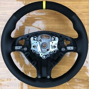 Bmw E46 M3 Suede Leather Steering Wheel Smg Paddles