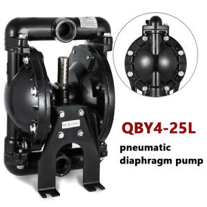 Air operated Double Diaphragm Pump 35 Gpm 1 Inch Inlet outlet 120 Psi fast Ship