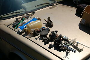 Large Lot Of Used New Nos Volvo 164 B30 Parts Some 140 B20 Compatibility