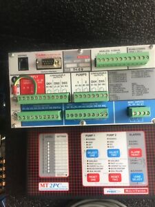 Flygt Mt2pc Series 7 Multitrode 2 Pump Controller used Good Condition
