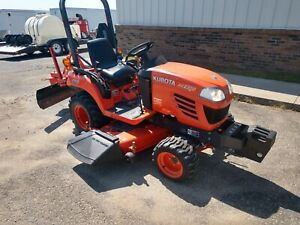 Kubota Bx2350 4x4 Farm Tractor 60 Belly Mower 299 Hrs 1 Owner Clean Rear Blade