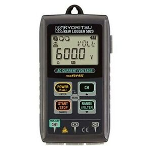 New Kyoritsu Kew5020 Data Logger For Current Voltage Recording From Japan