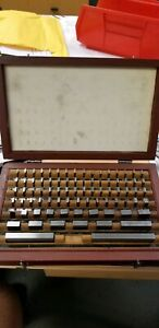 81 Pc Gauge Block Set Missing 6 Gage Blocks Machinist Tools