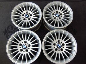 4x Genuine Bmw 7 series E38 740 750 Rims Alloy Wheels Style 61 1095049 16 Inch
