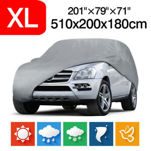 Xl Suv Full Car Cover Dust Protection Indoor Outdoor Uv Resistant For Bmw X5 X6