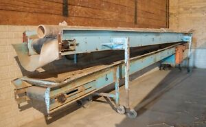 Haines Potato Produce Stacking Conveyor Belt 20 Long 16 Wide 44 Height