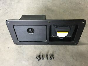 2005 2015 Toyota Tacoma Truck Bed Side Deck Pocket Box Power Outlet Genuine Oem