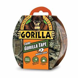 Gorilla Tape Camo Duct Tape Matte Finish For Hunting 1 88 X 9 Yd Mossy Oak