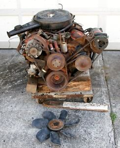 Complete 1970 Chevrolet 454 Ls 4 3963512 Engine And 400 Turbo Trans