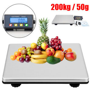 Postal Scale Digital Shipping Electronic Mail Packages Capacity Of 200kg 440lbs