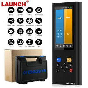 Launch Aidiagsys Obd2 Diagnostic Scan Tool Automotive Scanner Tpms Programming