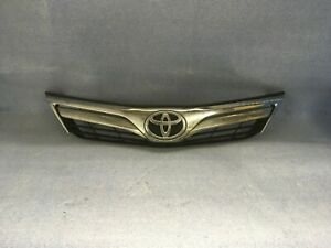 2012 2013 2014 Toyota Camry For Parts Use Front Bumper Grille Oem