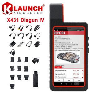 Launch X431 Diagun Iv Obd2 Scanner Car Diagnostic Scan Tool With Wifi bluetooth