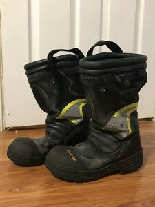 Globe Structural Firefighting Boots Size 8m