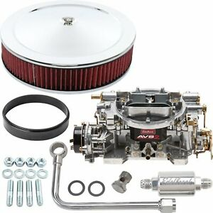 Edelbrock 1906k2 Avs2 Carburetor Kit Electric Choke Includes 650 Cfm Carburetor