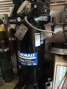 Kobalt 60 Gallon Stationery Air Compressor Great Condition Little Usage