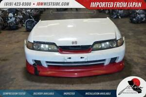 Jdm 1994 2001 Honda Integra Dc2 Front End With Lip Conversion Non Hid Type R