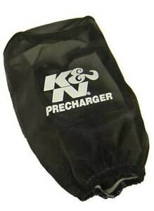 K N Precharger Air Filter Wrap Round Straight Black 3 5in Id X 6in H Knr