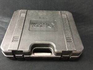 Matco Tools Blow Mold Case For 1 2 Drive Impact Wrench Mcl18iwvs Case Only