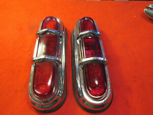 1951 53 Packard Junior Taillight Assemblies