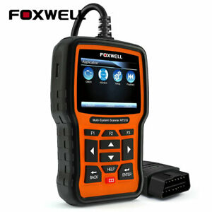 For Honda Abs Srs Dpf Tps Brt Multi System Foxwell Nt510 Obd2 Diagnostic Scanner