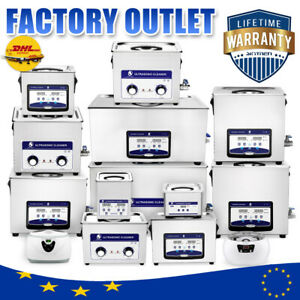 Industry Ultrasonic Cleaner 0 6 30l Heated Degas Ultra Sonic Cleaning Supplies