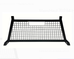 Pickup Truck Headache Rack Cab Rear Window Protector Cage Guard Adjustable Steel