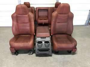 1999 2010 Ford F250 F350 F450 Super Duty King Ranch Front Rear Seats