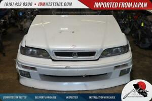 Jdm 1991 1995 Acura Legend Vip Front End Conversion With Rear Bumper