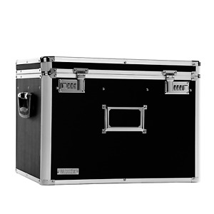 Locking File Chest Letter Legal Storage Boxes Rubbers Feet Filing Labels Holde