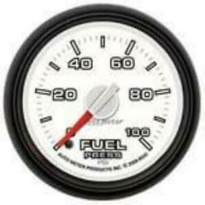 Auto Meter Factory Matched Fuel Pressure Gauge 8563 For 0 100 Psi 03 09 Dodge
