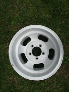 1 15 X 8 5 Slotted Mag Wheel Old School Slot Vintage 5 X 5 Et Ansen Chevy