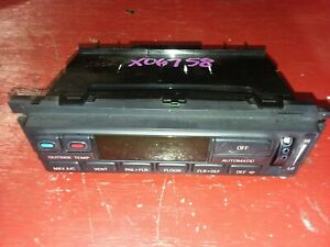 2001 Ford Expedition Ac Controls Dash 97 02