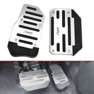 New Racing Sports Non Slip Automatic Car Gas Brake Pedals Pad Cover Accessories