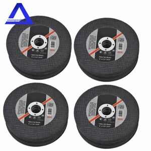 100 Pack 4 x040 x5 8 Cut Off Wheel Metal Stainless Steel Thin Cutting Discs