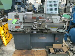 Clausing Colchester 13 geared Head 3ph Engine Lathe W lever Pull Type 5c Closer