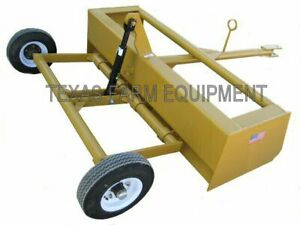 8 Pull type Scraper Road Grader planer Leveler Box Blade Dirt Earth Mover