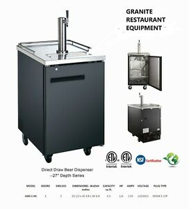 New Single Keg Cooler With One Tower With Double Beer Tap