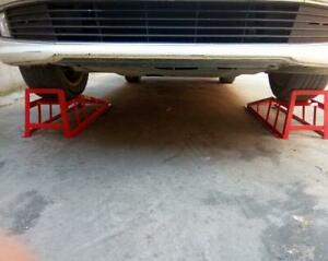 Car Maintenance Ramp Loading Weight 6600lbs For Auto Repair Shop Ramps Lifts New