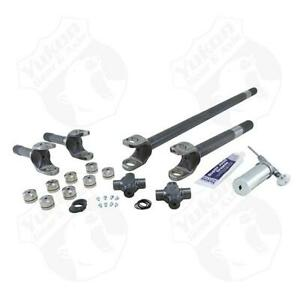 Yukon Front 4340 Chrome moly Replacement Axle Kit For 80 92 Wagoneer Dana 44
