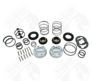 Yukon Hardcore Locking Hub Set For Gm 8 5 Front Dana 44 19 Spline