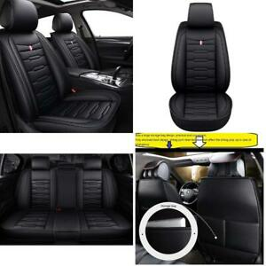 Skysep Cartoon Full Set Universal Fit 5 Seats Car Surrounded Waterproof Leather