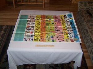 Vintage Illustrated Chart Of History Of Mankind Teachers Classroom Poster 3 X4