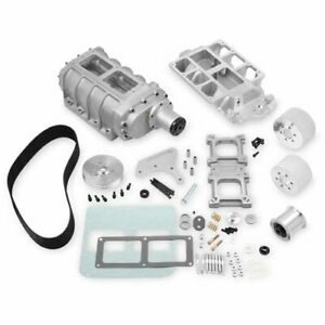 Weiand 7587 6 71 Supercharger Kit 1955 86 Small Block Chevy Drive Pitch 8mm 11