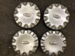 1 Set Ford Windstar Center Caps Hubcaps1999 2003 xf22 1a096 ab