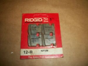 Ridgid 12 r Npsm 1 Pipe Dies May Fit Other Heads