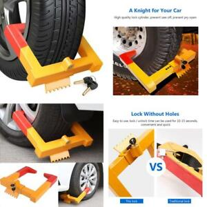 Coocheer Car Wheel Lock anti Theft Tire Lock Clamp Boot Tire Claw Parking Car Tr